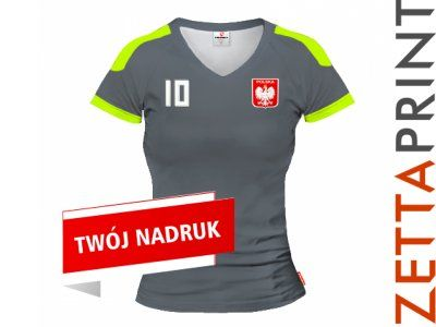 REAL Koszulka Damska Nadruk Imię Numer ZTT_DS1160