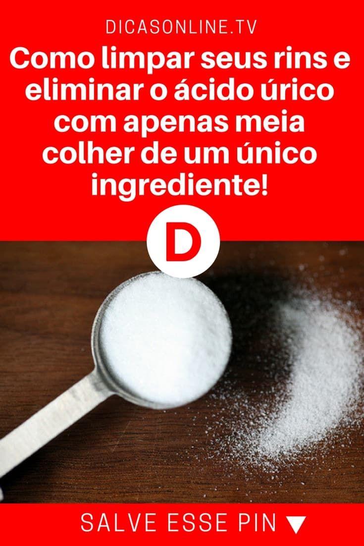 Receita Caseira Para Limpar Seus Rins Usando Bicarbonato Acido