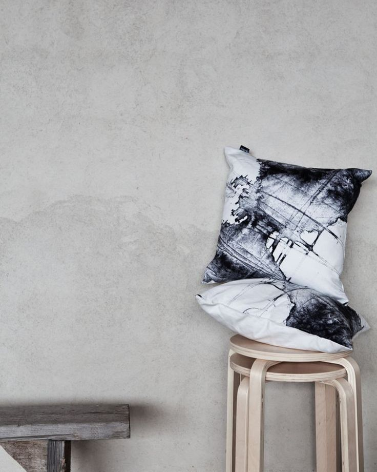 "Cushion Cover ""Free"" by Ylva Skarp"