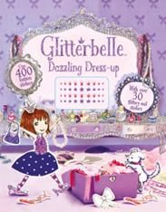 Glitterbelle : Dazzling Dress-Up Activity Book Glitterbelle is a fun & friendly, shimmery & glittery, modern day princess. The easy-to-follow stories explore the world of Glitterbelle, her best friends, and pet dog Bob, as they attend school and practice wide-ranging hobbies such as singing, dressing up and baking – but with extra special sparkle! Glitterbelle's world is brought to life through stunning, elaborate, miniature sets, each skilfully created by hand.