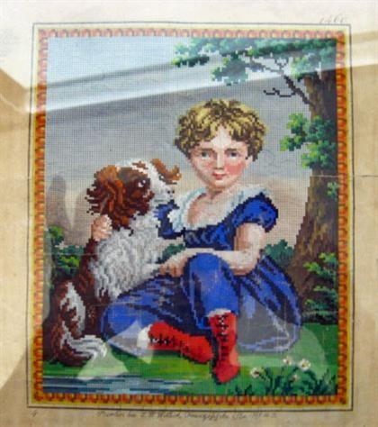 Berlin WoolWork Pattern Produced By L W Wittich Berlin