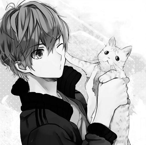 What Hairstyle Suits Me Le Meilleur De Adorable Mens: Dean Holding Ahir In A Cat Form