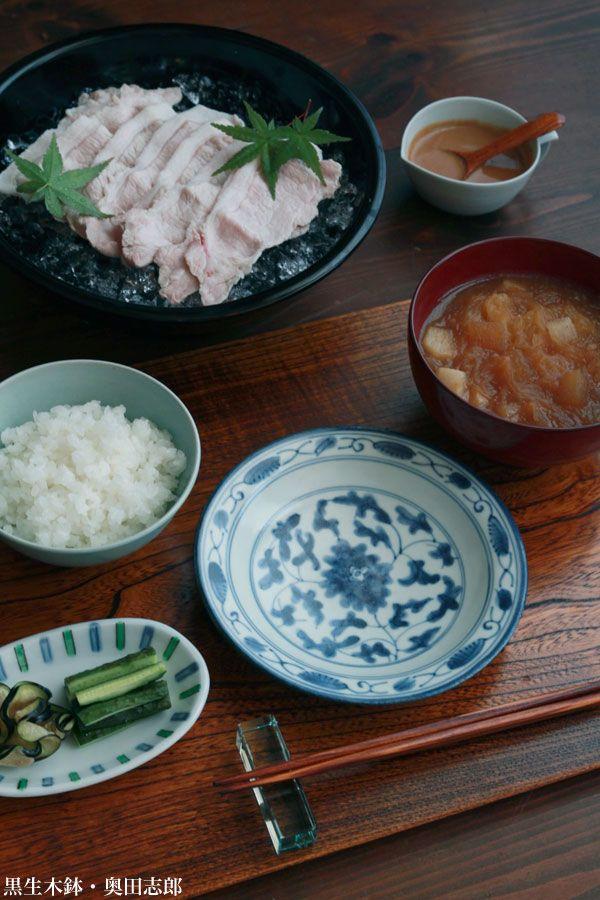 生木鉢・奥田志郎 和食器の愉しみ・工芸店ようび