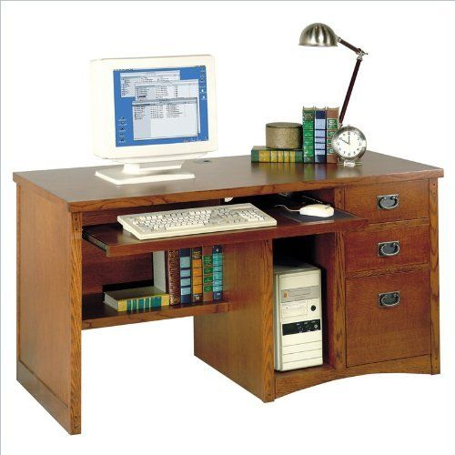 Incroyable Kathy Ireland Home By Martin Fuwrniture California Bungalo Wood Computer  Desk In Cherry By Martin Furniture