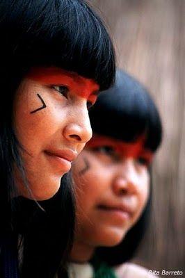 India nativa das tribos do Amazonas do Brasil