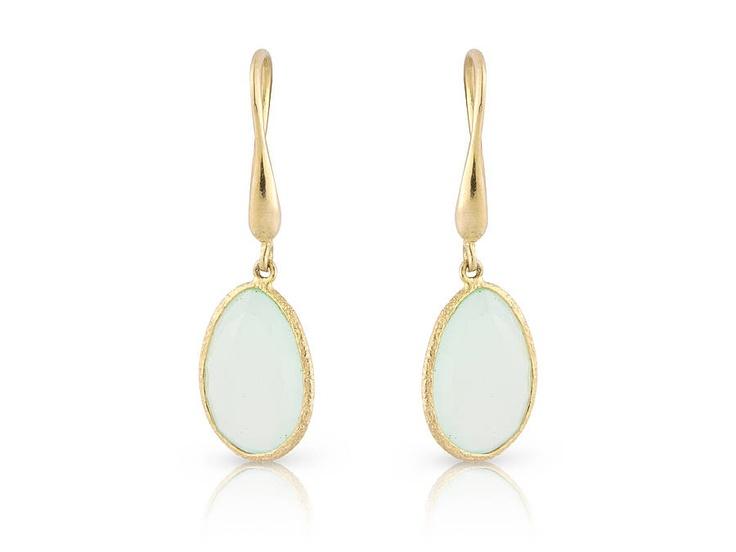 Antigua Chalcedony Earrings  Argents of London  £56