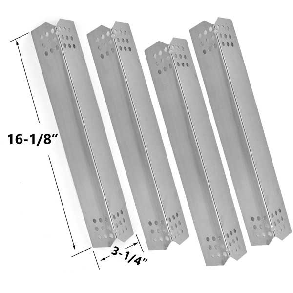 4 PACK REPLACEMENT STAINLESS STEEL FLAME TAMER FOR OUTDOOR GOURMET GR2057601-OG-00, MEMBERS MARK 720-0709B, JENN AIR & KITCHEN AID GAS GRILL MODELS  Fits Outdoor Gourmet: GR2057601-OG-00  BUY NOW @ http://grillrepairparts.com/shop/grill-parts/4-pack-replacement-stainless-steel-flame-tamer-for-members-mark-720-0709b-jenn-air-outdoor-gourmet-gr2057601-og-00-kitchen-aid-gas-grill-models/