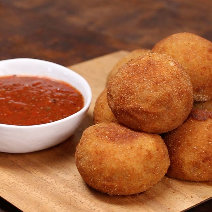 Nothing says fiesta like chicken-stuffed potato bombs. Crispy, cheesy and perfect for dunking into zesty salsa.