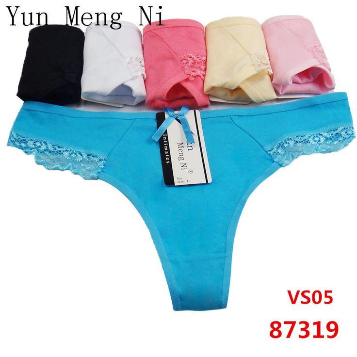 Yun Meng Ni sexy women panties 4PCSLOT underwear g string tanga calcinha calvin thongs lingerie pink lace cute girl transparent #CLICK! #clothing, #shoes, #jewelry, #women, #men, #hats