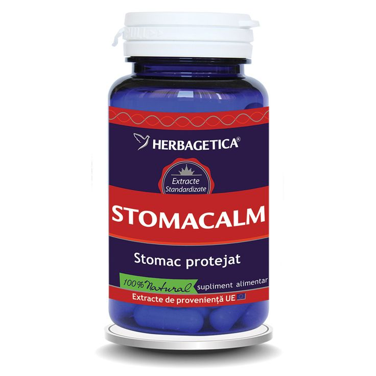 Calmant gastric, antiiflamator gastrointestinal, cicatrizant, protector gastric