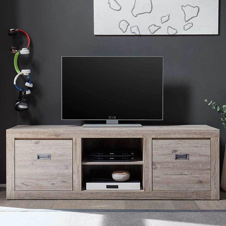 TV Unterschrank In Asteiche Hell Modern Jetzt Bestellen Unter Moebelladendirektde Wohnzimmer Tv Hifi Moebel Lowboards Uida99dc7da 748f 5b70