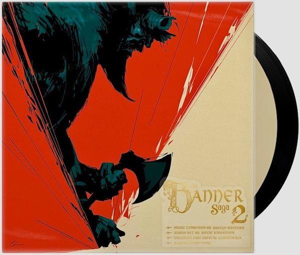 Banner Saga 2 Vinyl Soundtrack 2xlp Grafika Igry
