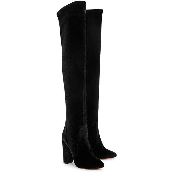 Best 25  Knee boots ideas on Pinterest | Black thigh high boots ...
