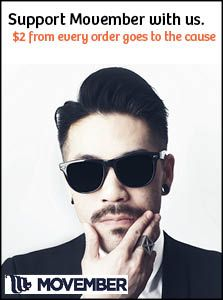 Help Us Support Movember 2014