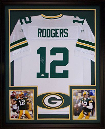 green bay packers jersey frame