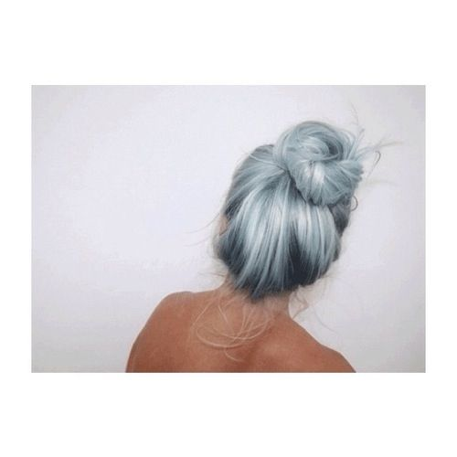 Light blue hair via tumblr