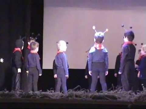 Vánoční besídka 2011 - Horní Počaply - mravenci - YouTube