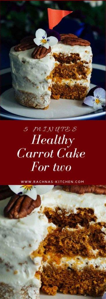 https://www.rachnas-kitchen.com/eggless-carrot-cake-microwave/ #egglesscarrotcake #carrotcake #carrotcakeinmug