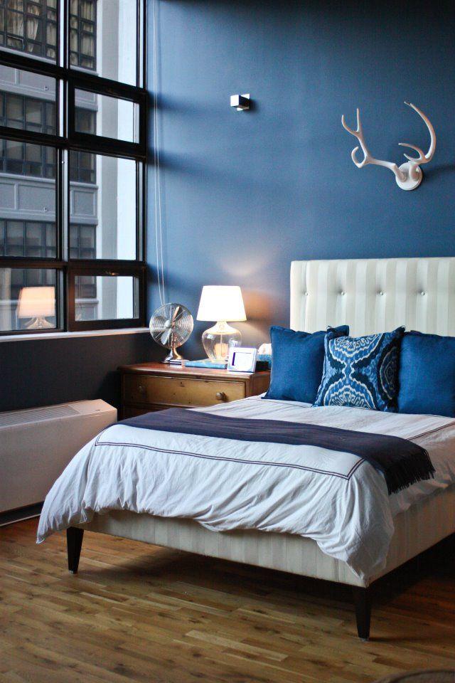 Benjamin Moore Van Deusen Blue Bathroom: 4160 Best Bedroom Colors Images On Pinterest
