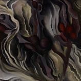 """Georgia O'Keeffe, whose oil painting """"Seaweed"""" (1927) is part of """"Modern Times"""" at Stanford's Cantor Arts Center, yearned to be known as an American painter, not a female artist."""