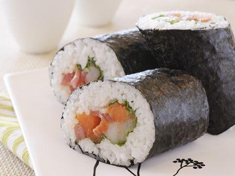 ごまだれ海鮮恵方巻き  http://www.yamasa.com/recipes/1598/