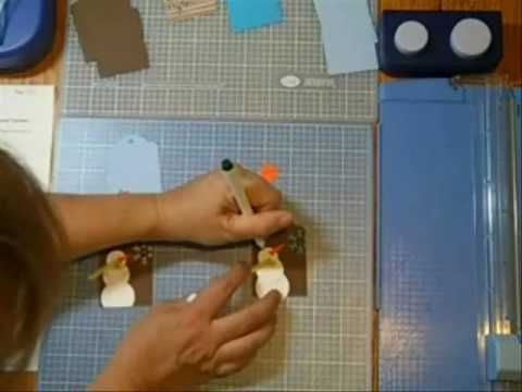 Punch art tricks and tips: Creative Memories, Snowman Gifts, Punch Art, Art Tips, Art Tags, Circles Punch, Gifts Tags, Scarfs Gifts, Art Snowman