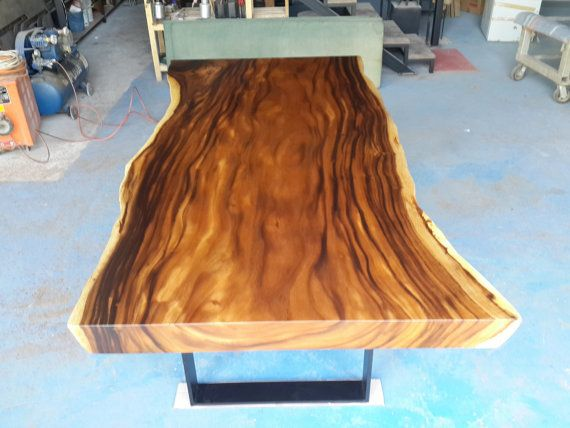10 best live edge tables images on pinterest live edge for Live edge wood slabs new york