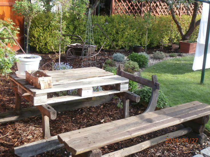 ...i v užitkové části zahrady se dá odpočívat...
