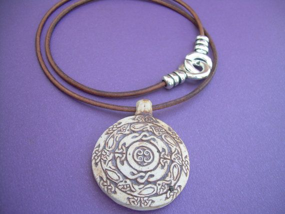 78 best malibu creek leather necklaces images on pinterest leather necklace celtic pendant mens necklace by malibucreek 1799 mozeypictures Gallery