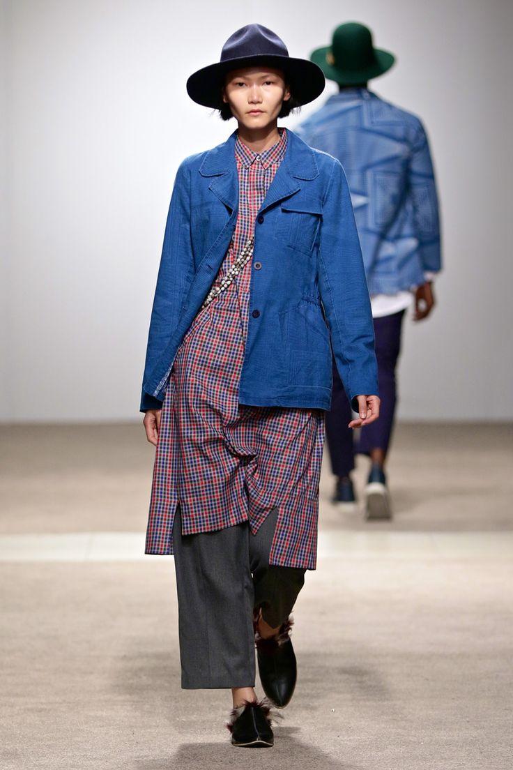 Amanda Laird Cherry AW17: Look 3 -- Photo: Simon Deiner at South African Menswear Week
