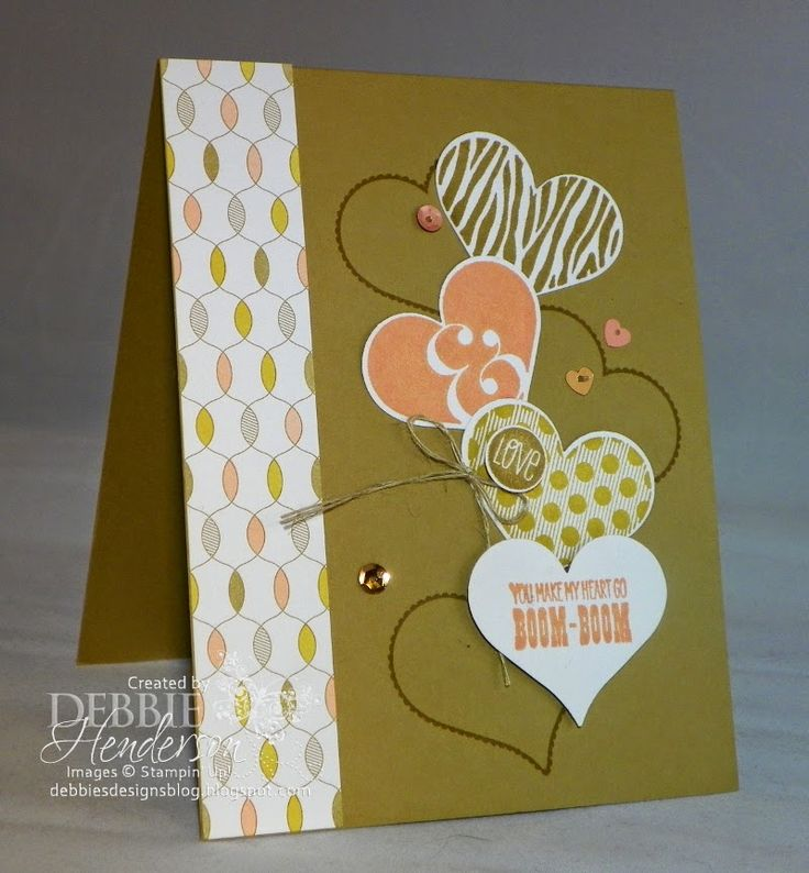 Debbie's Designs: Control Freaks Swap Card! I really like the style of this card and the colors are great!