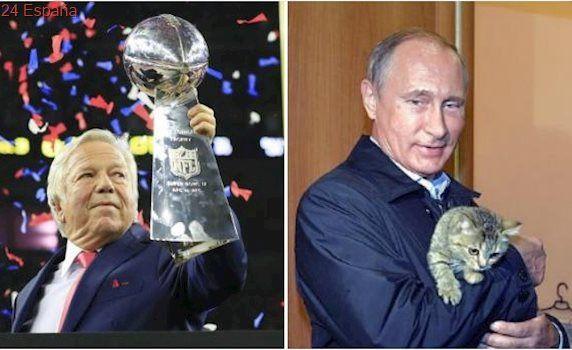 El anillo de campeón de la Super Bowl que Putin «robó» al propietario de los Patriots