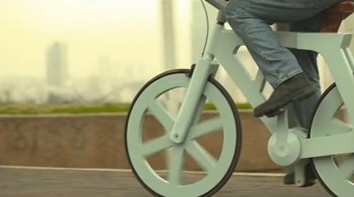 Izhar cardboard bike project 5