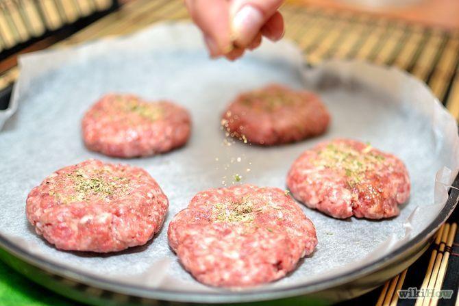 How to Season Hamburgers: 8 Steps - wikiHow