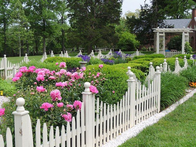 17 Best Ideas About White Picket Fences On Pinterest
