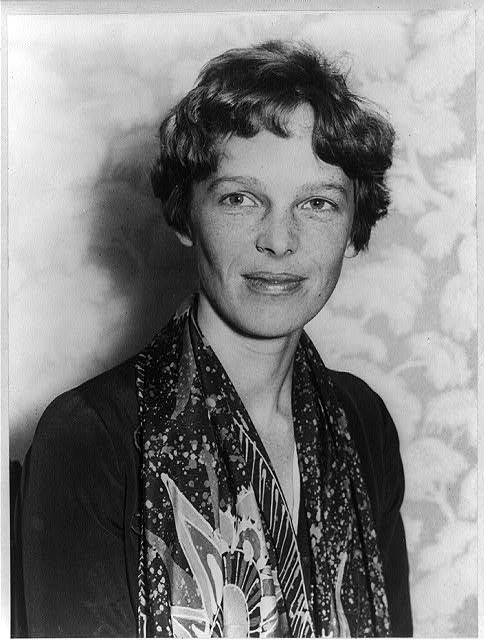 January 11,1935:  Amelia Earhart Becomes the First Person to Fly Solo from Honolulu, Hawaii to Oakland, California