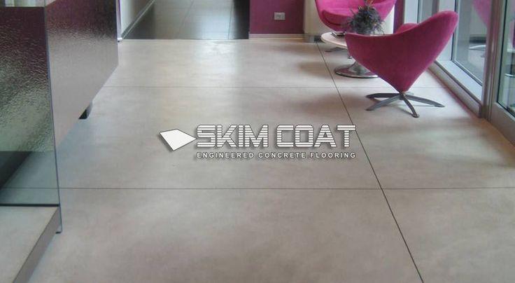 Skim Coat Floor - concrete people based in sheffield