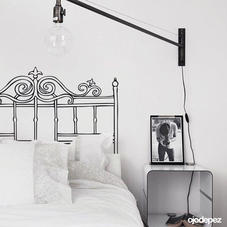 17 mejores ideas sobre cama 1 plaza en pinterest cama de for Oferta vinilos pared