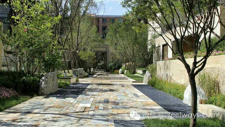 Villa. Paving   Walkway