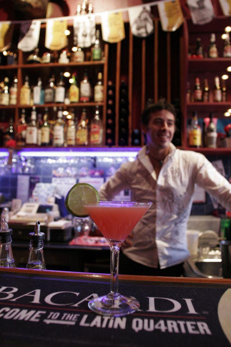 Bar, cocktails