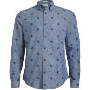 Chemise Record bleue ciel de Ben Sherman #chemise #bensherman