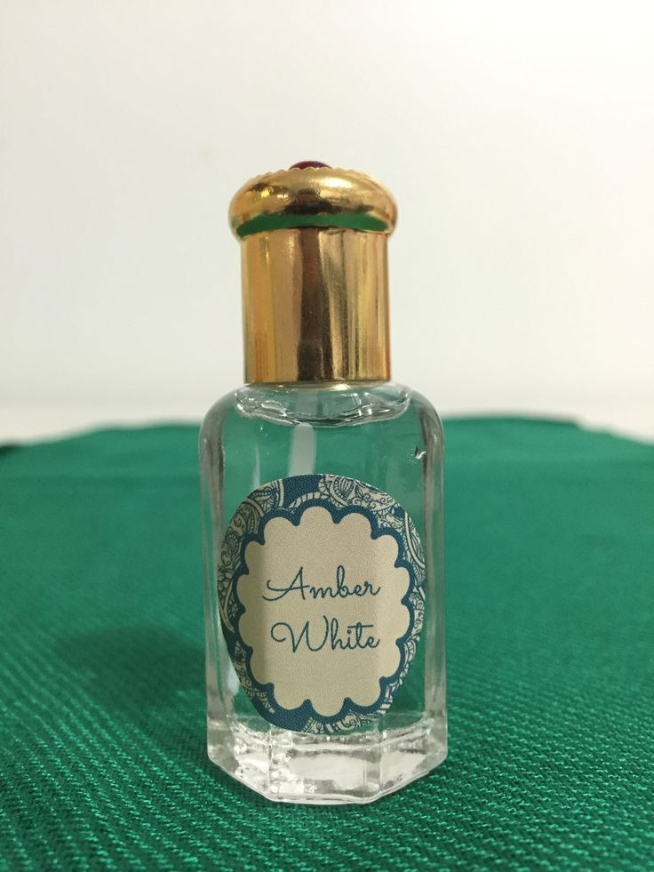 Amber White Scented Oil