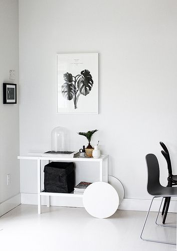 The trolley looks the same as #IKEA Trendig 2013 Occasional table, but painted white. Article # 102.768.90. Price USD 99. Photo credits to | AMM blog