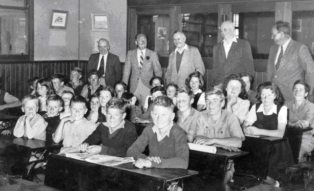 The children attend school at the Fairbridge Primary School. Image courtesy Bigrigg Collection, Molong and District Historical Society
