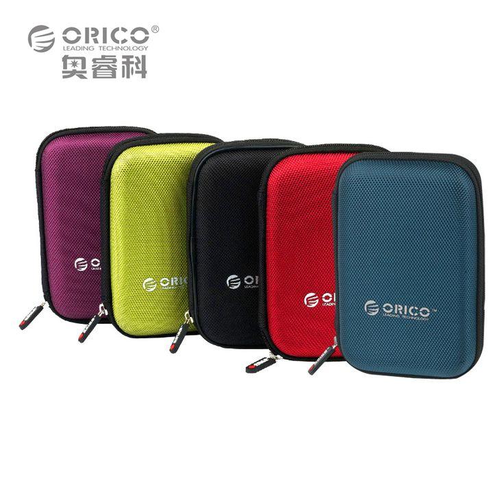 Orico phd-25 2.5 pulgadas bolsa de protección para el caso caja disco duro externo portátil-negro/rojo/verde/púrpura/azul