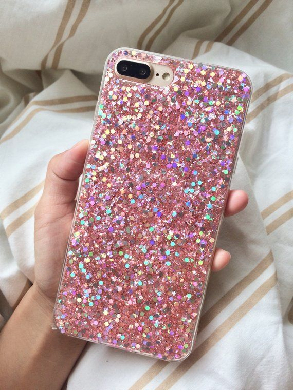 New speedy delivery pink glitter sparkle tech case iPhone case for iPhone 6 6s other models available phone case