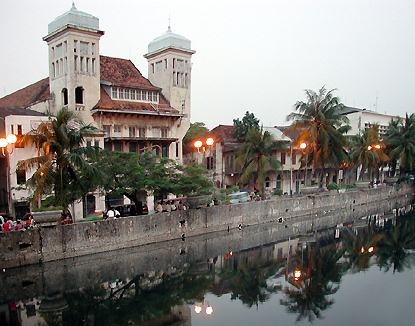 Kota, Jakarta, Indonésie