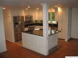 Résultats de recherche d'images pour «island with shelves kitchen supporting beam»