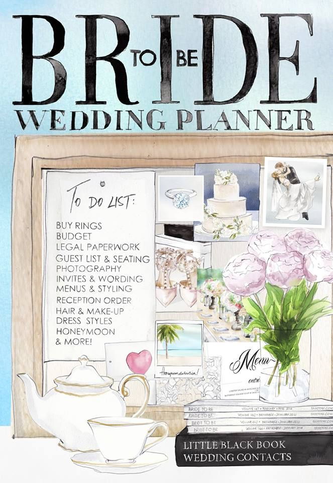Bride To Be Wedding Planner 2014