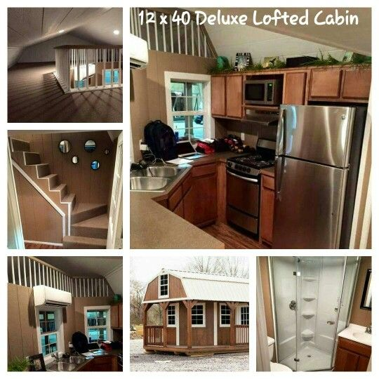 Lofted Cabin moreover 407cb92e0411c341 Pre Built Amish Cabins Small Amish Built Log Cabins further 14 X 60 Mobile Home Floor Plans in addition Portable Buildings 16x40 House Plans together with Garage 14. on 16x40 cabin home